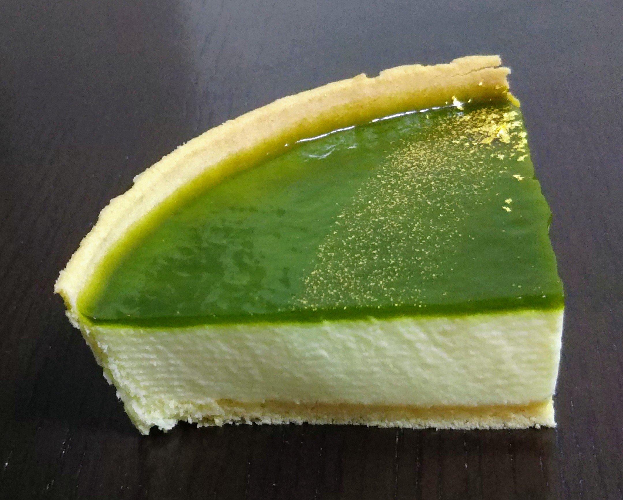 モロゾフ抹茶のレアチーズケーキ