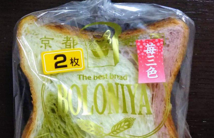 京都祇園ボロニヤ デニッシュ食パン苺三色